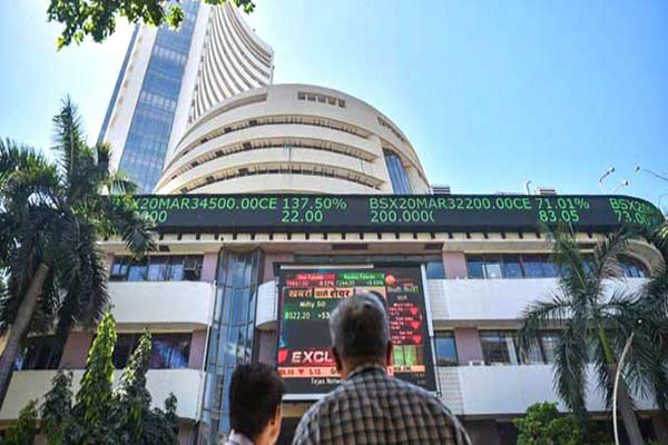 Sensex declines over 200 points in Early Trade